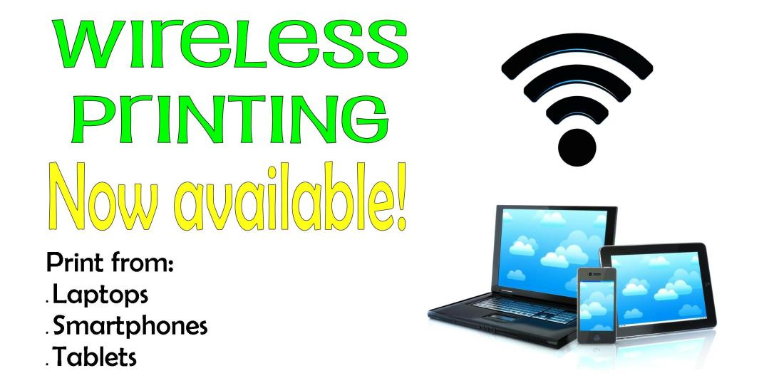 Wireless-Printing-is here